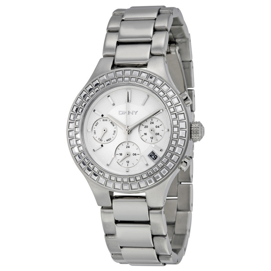 Chambers Silver Dial Stainless Steel Ladies Watch
