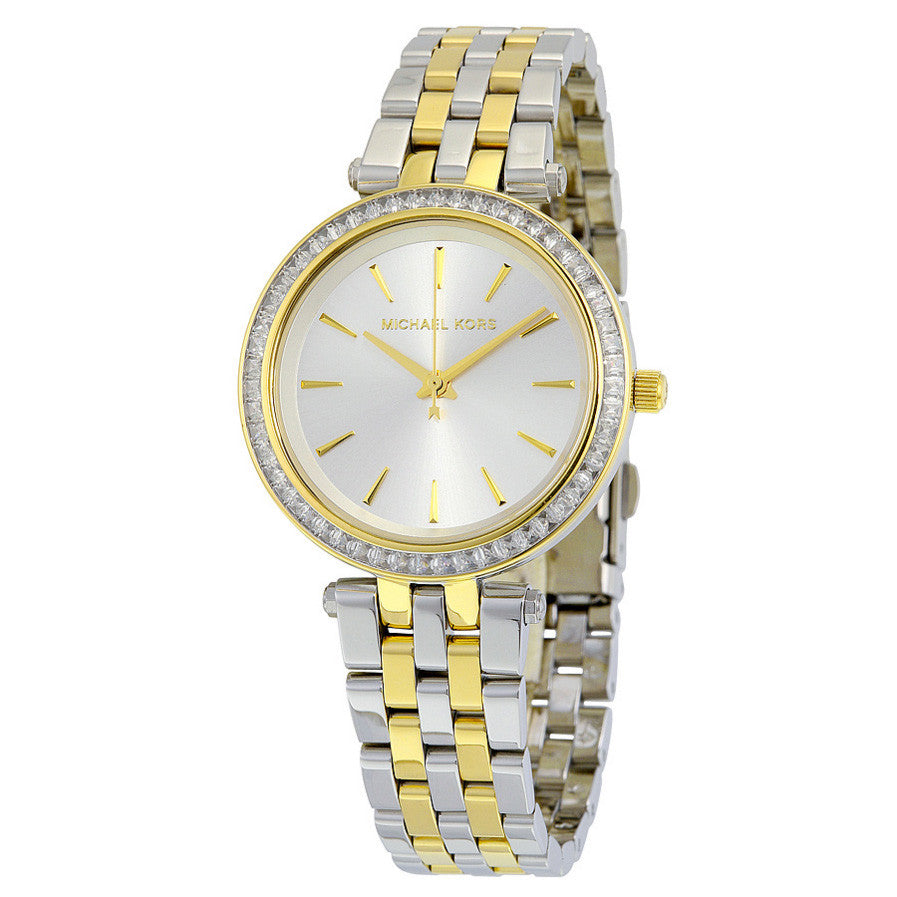 Darci Pearl White Two-tone Ladies Watch