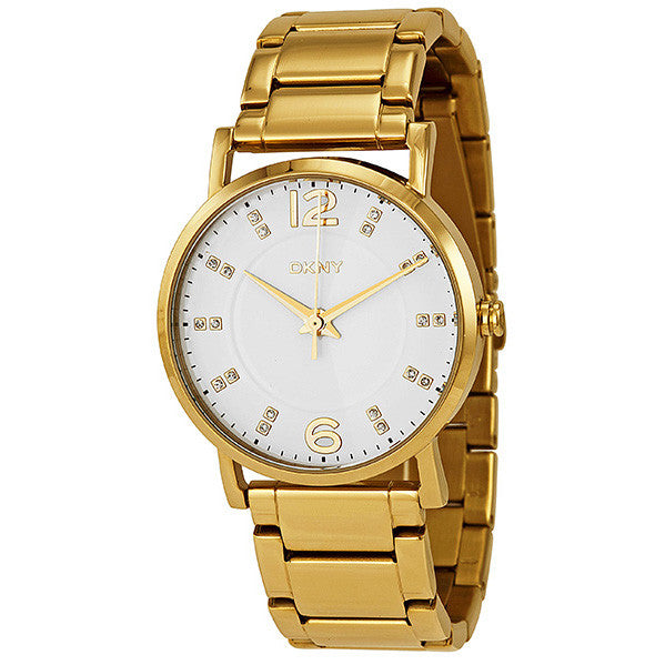 Gold-tone Stainless Steel Ladies Watch