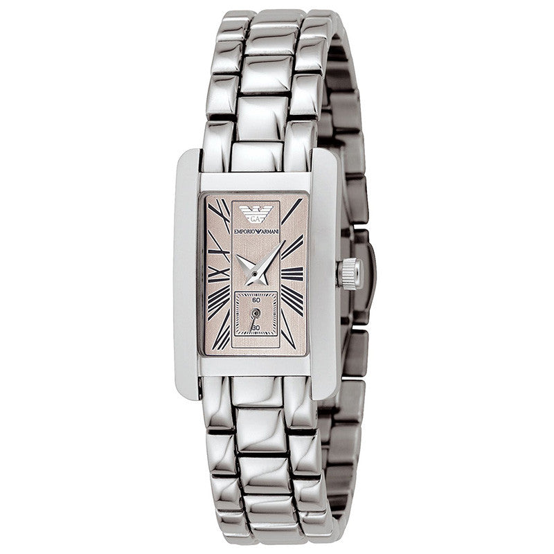 Classic Gold Dial Stainless Steel Ladies' Watch