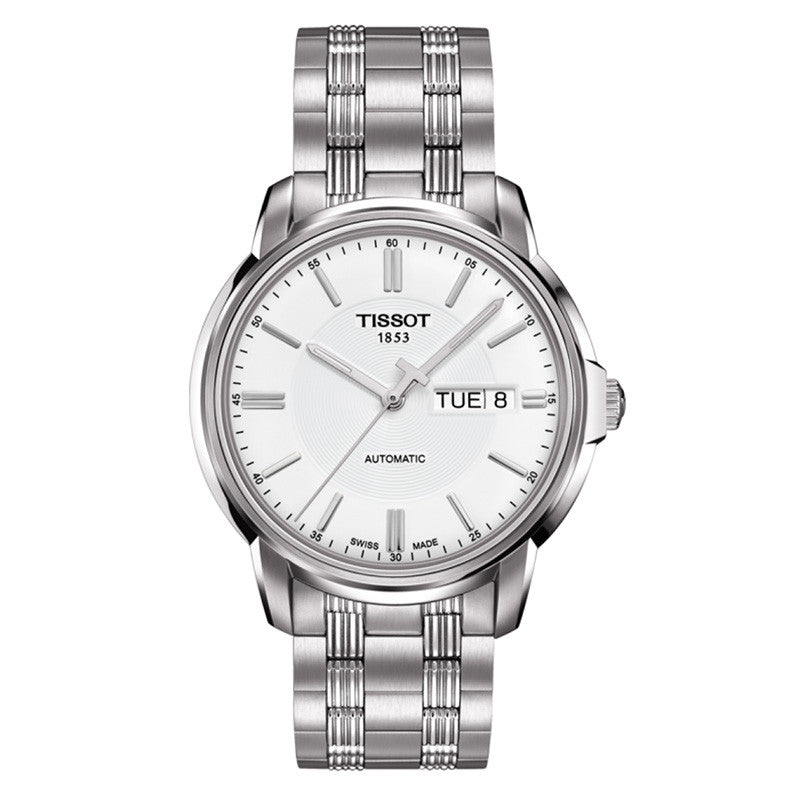 Automatic III White Dial Men's Watch