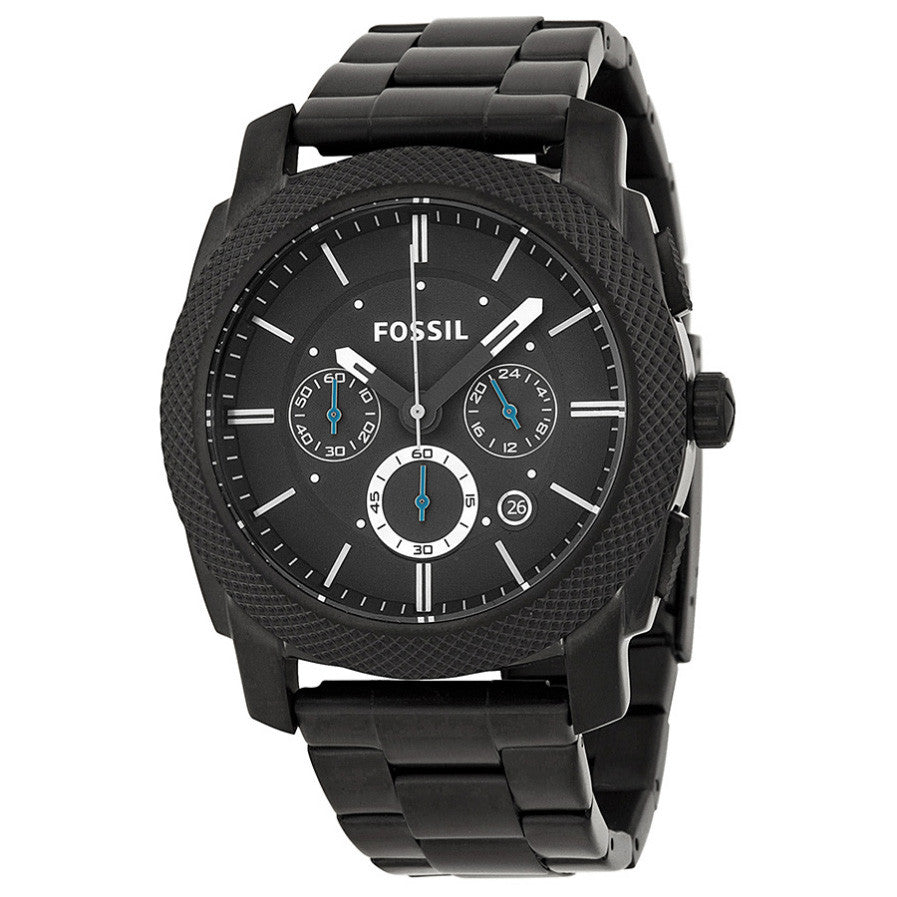Machine Chronograph Black Ion-plated Men's Watch