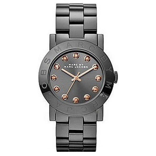 Amy Black Dial Black-tone Stainless Steel Ladies Watch