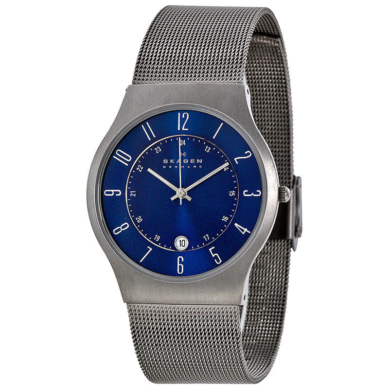 Titanium Steel Mesh Men's Watch