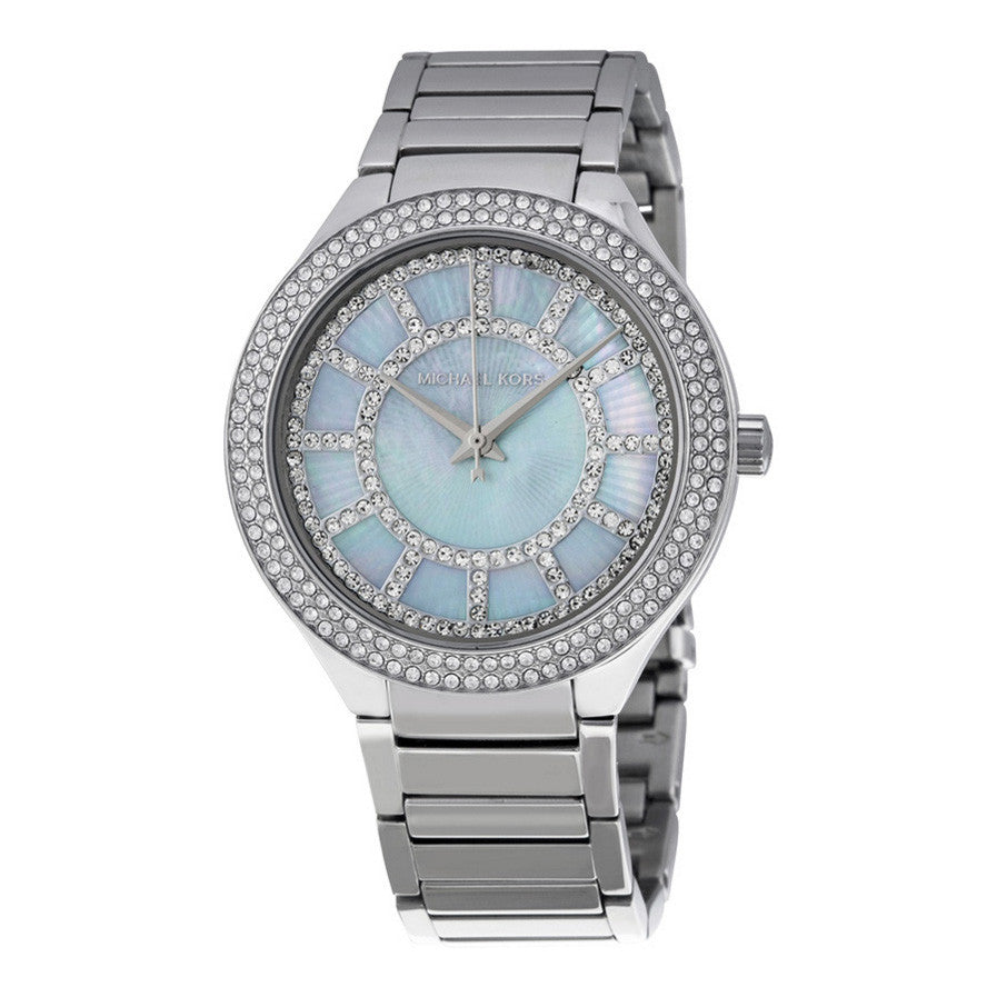 Kerry Mother of Pearl Dial Stainless Steel Ladies Watch