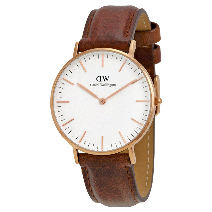 Classic St Andrews Rose Gold 36mm Ladies Watch