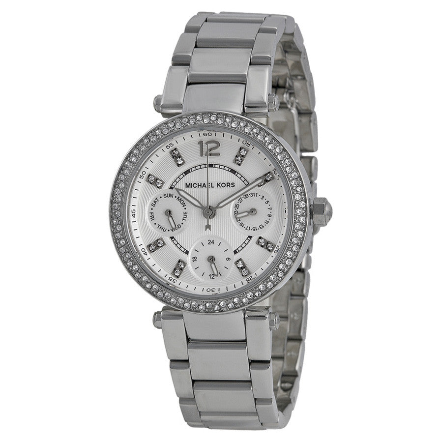 Parker Multi-Function Silver Ladies Watch