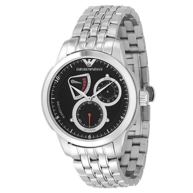 0dc7b8a1b Emporio Armani AR4605 Meccanico Automatic Stainless Steel Men's ...