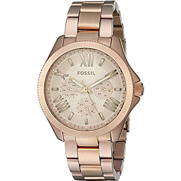 Cecile Multifunction Rose Gold-tone Ladies Watch