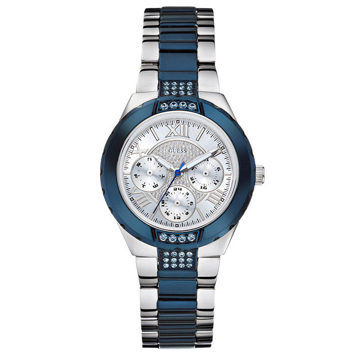 Viva Multi-Function Blue Two-tone Ladies' Watch