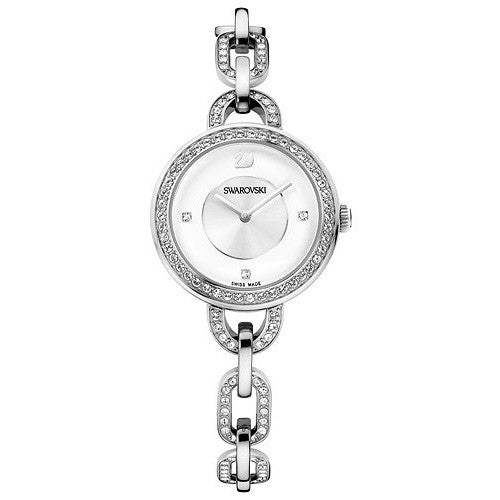 Aila White Stainless Steel Bracelet Ladies Watch