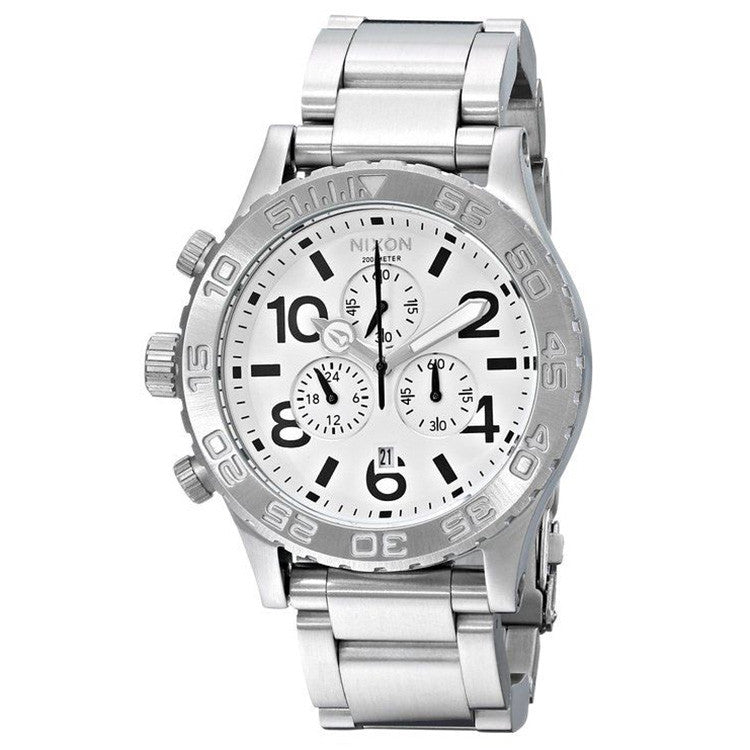 The 51-30 Chrono Stainless Steel Men's Watch