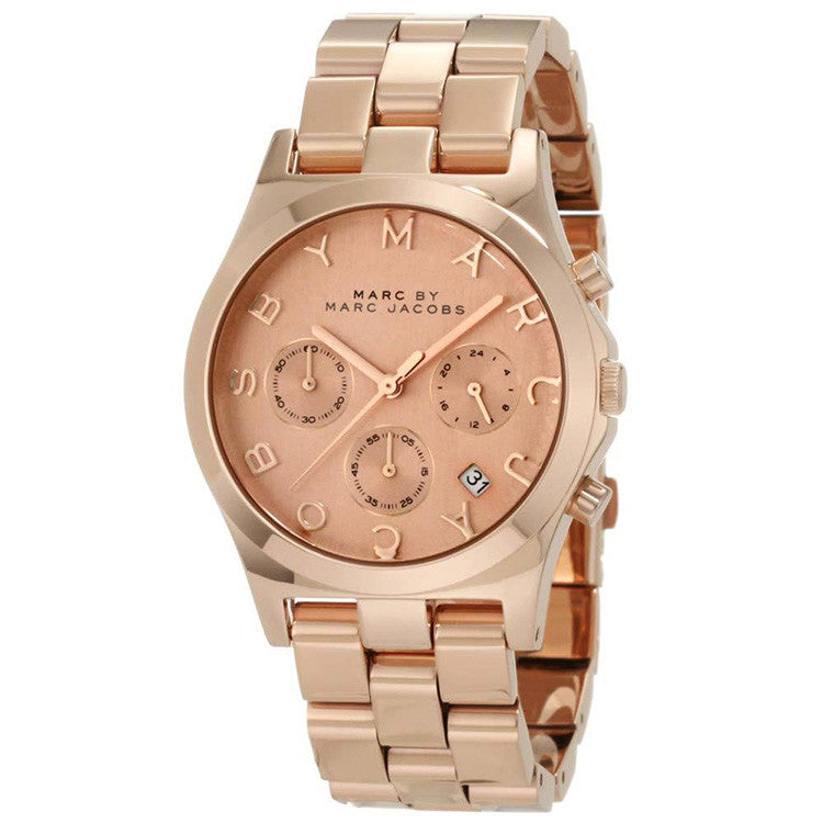 Henry Chronograph Rose Gold Ladies Watch