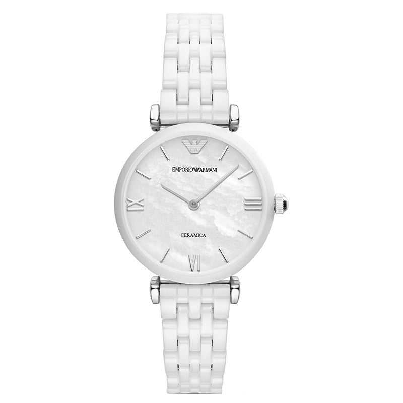 Ceramica White Mother Of Pearl Dial Ladies Watch