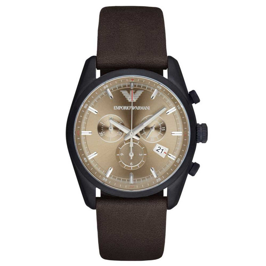 Sportivo Beige Sunray Dial Men's Chronograph Watch
