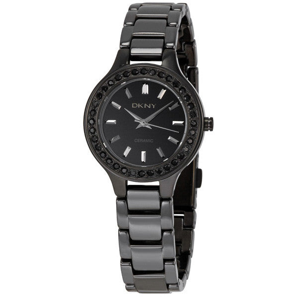 Black Ceramic Ladies Watch