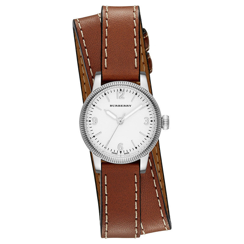 Utilitarian Stainless Steel Ladies' Watch