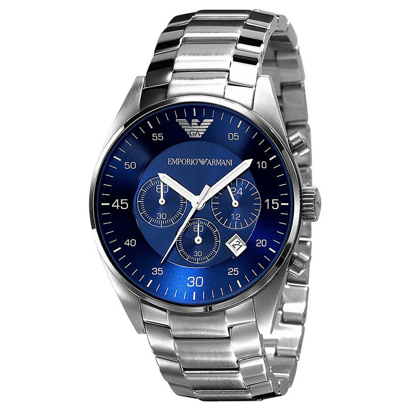 Emporio Sport Chronograph Blue Dial Men's Watch