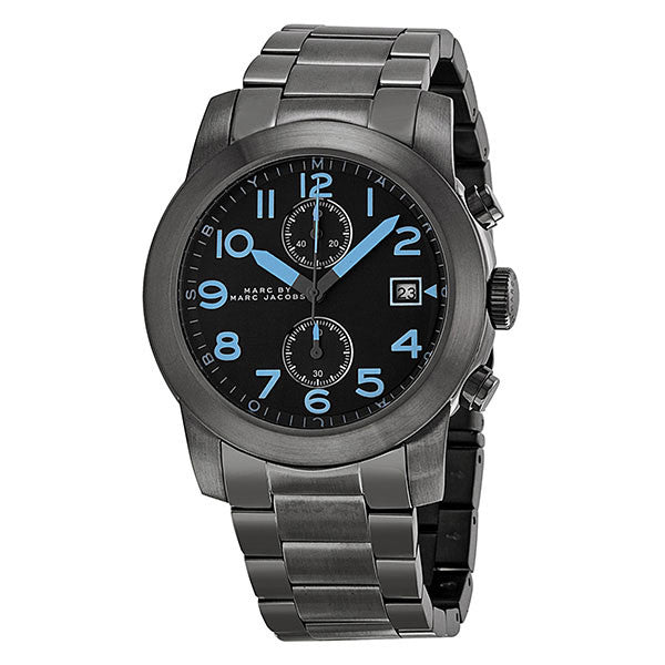 Larry Chronograph Dark Grey Dial Gunmetal Ion-plated Men's Watch