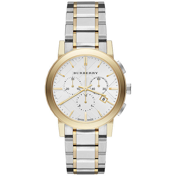 The City Chronograph Two-tone Stainless Steel Ladies' Watch