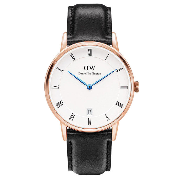 Dapper Sheffield Rose Gold 34mm Ladies Watch