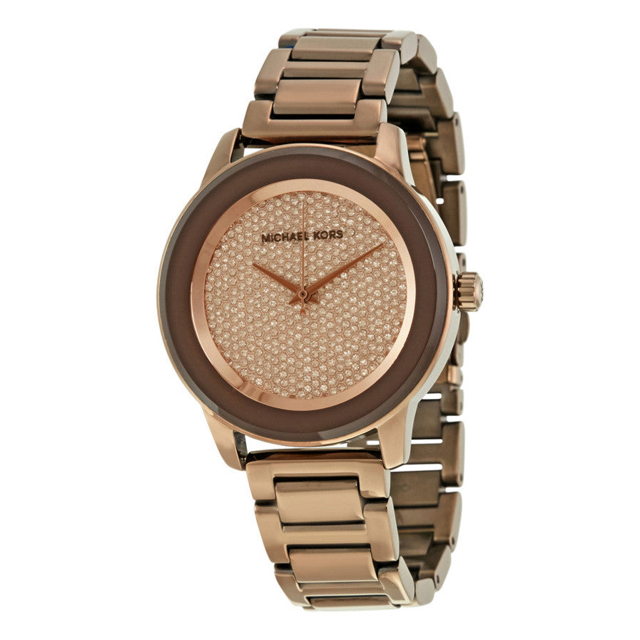 Kinley Pavé Sable Dial Ladies Dress Watch