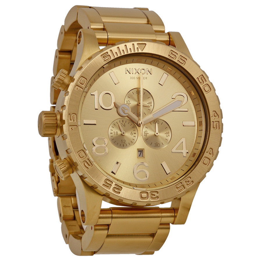 The 51-30 Chrono Gold-Tone Stainless Steel Men's Watch