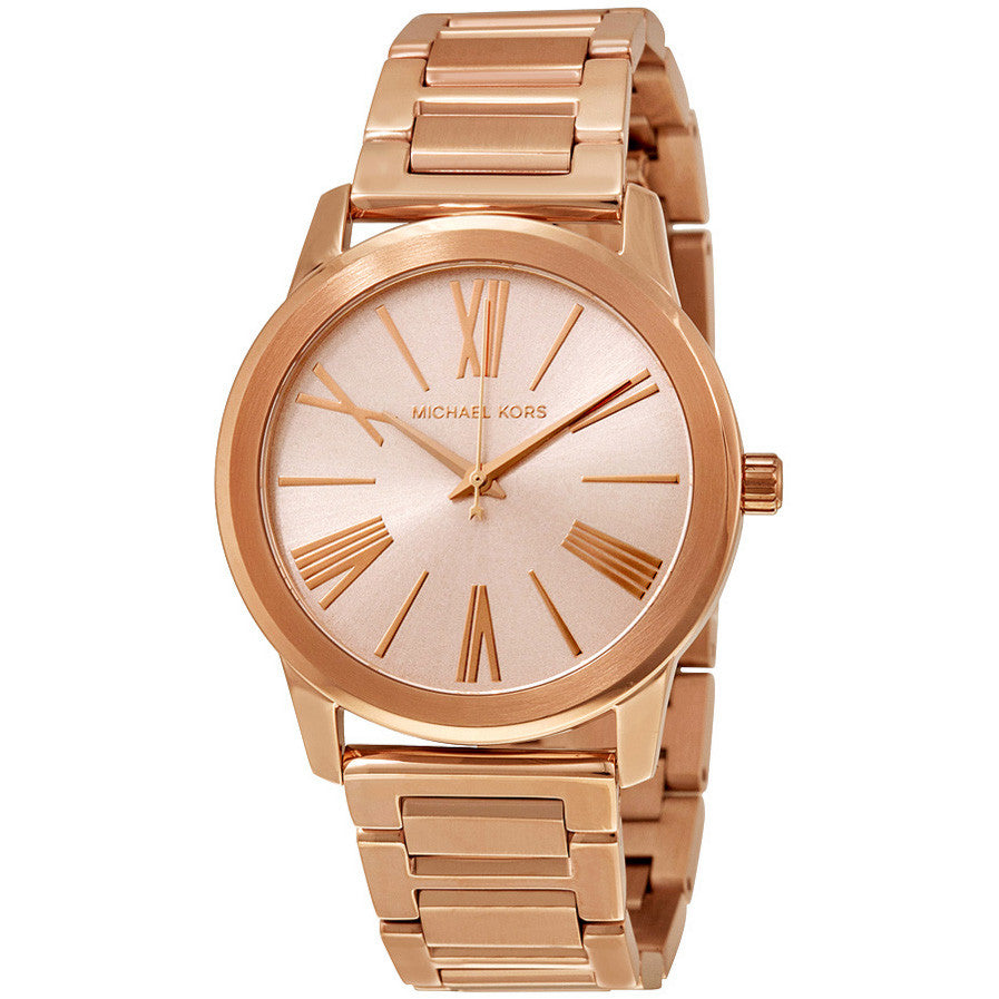 Hartman Rose Gold-Tone Stainless Steel Ladies Watch