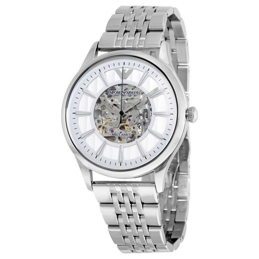 Meccanico Dress Skeleton Dial Men's Watch