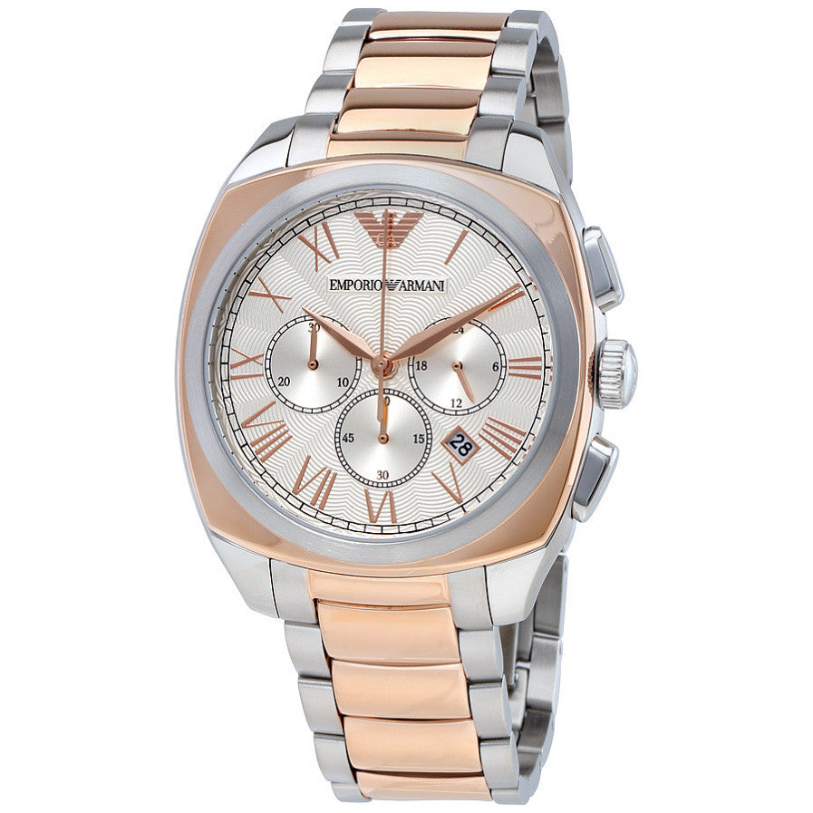 Dress Guilloche Dial Men's Chronograph Watch