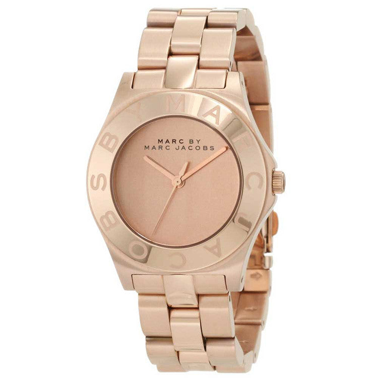 Blade Rose Gold-Tone Ladies Watch