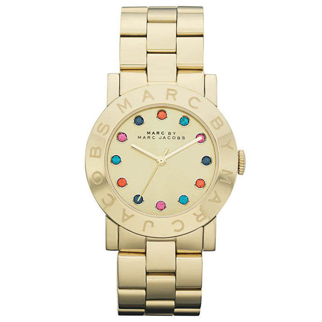 Amy Gold Multi Glitz Dial Stainless Steel Ladies Watch