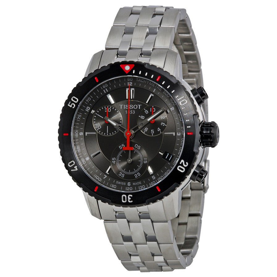 PRS200 Chronograph Black Textured Dial Men's Watch