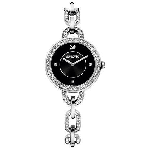 Aila Black Stainless Steel Bracelet Ladies Watch