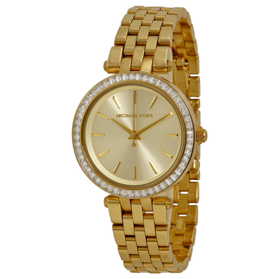 Mini Darci Gold Tone Stainless Steel Ladies Watch