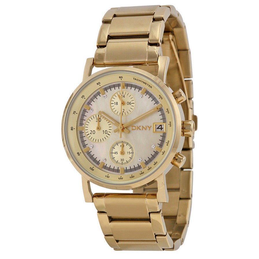 Chronograph Gold-tone Unisex Watch