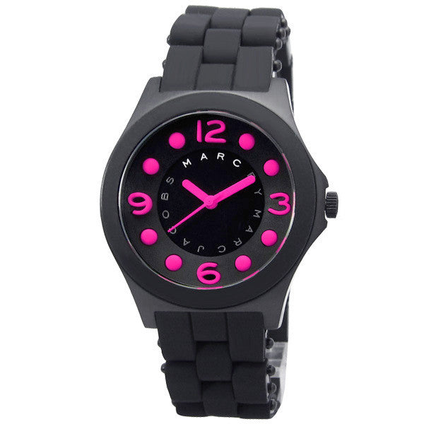 Marc Jacobs Large Pelly Pink Theme Stainless Steel Ladies Watch