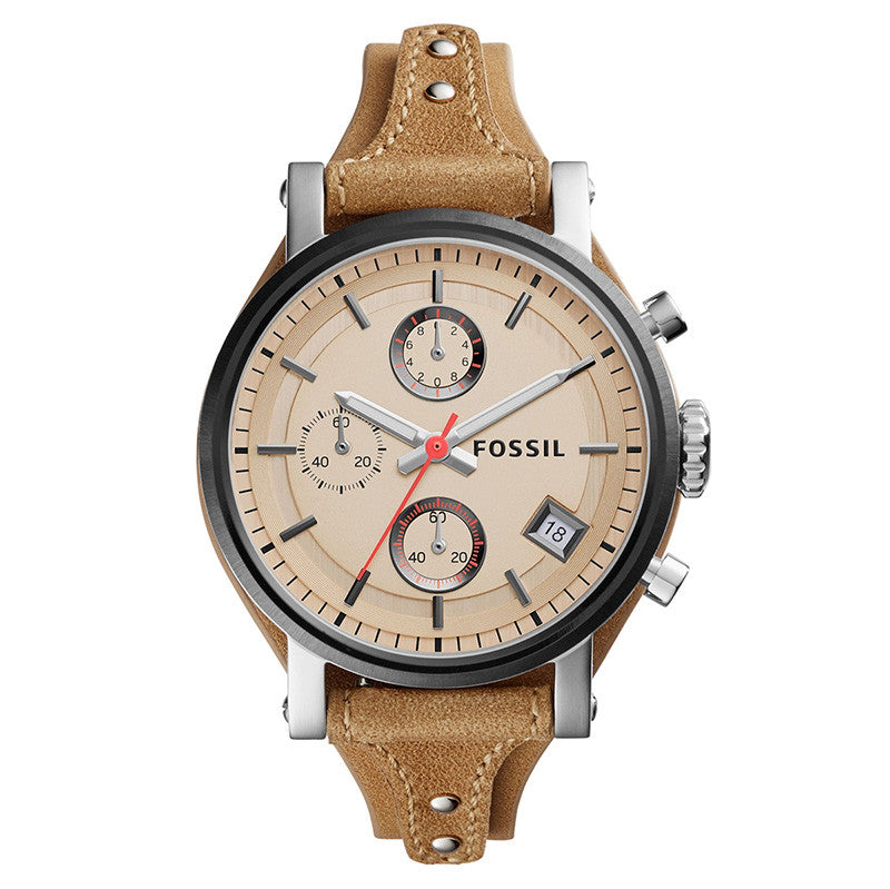 Original Boyfriend Chronograph Tan Ladies' Watch
