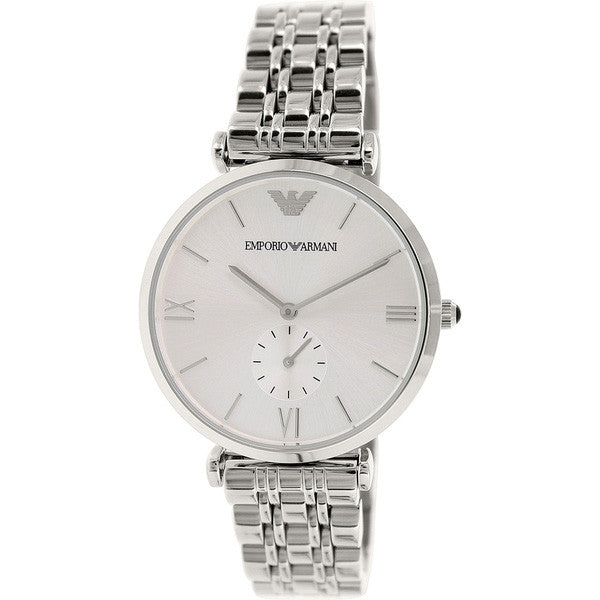 Classic Silver Dial Quartz Men's Watch