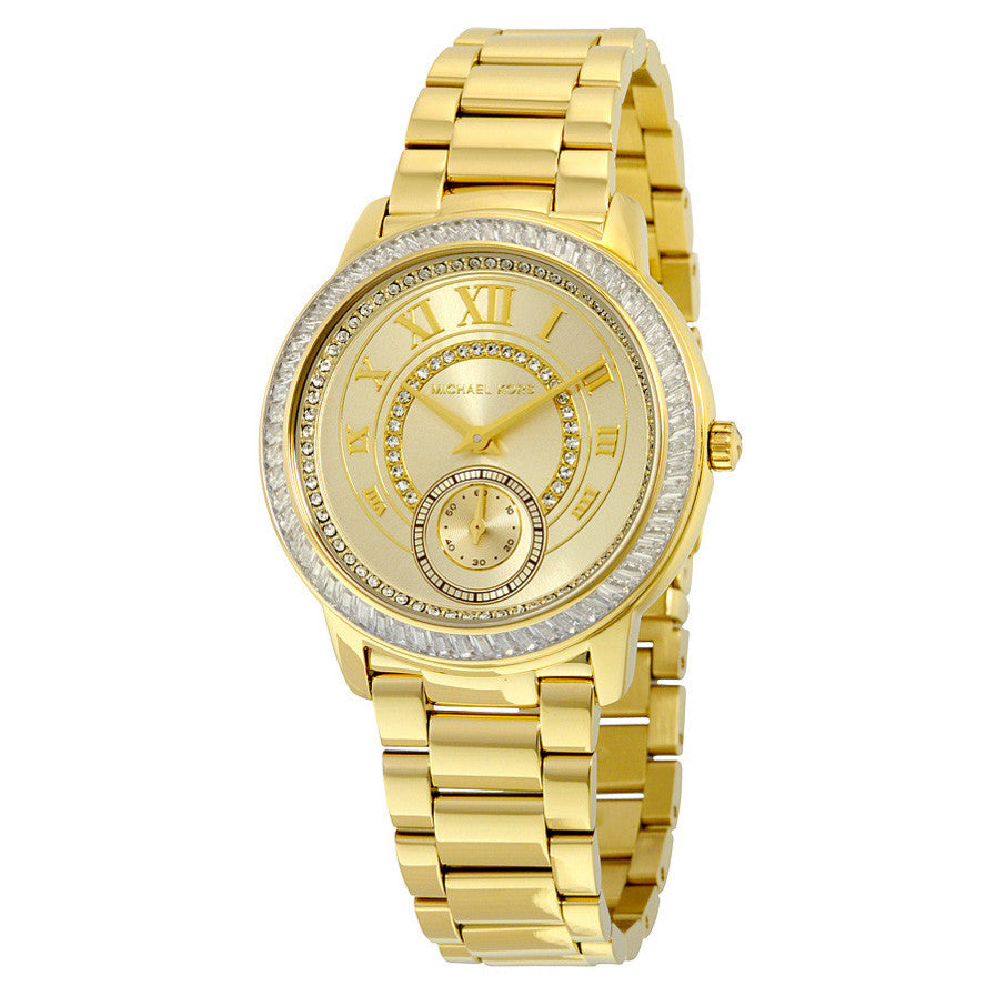 Madelyn Gold Dial Gold-tone Ladies Watch