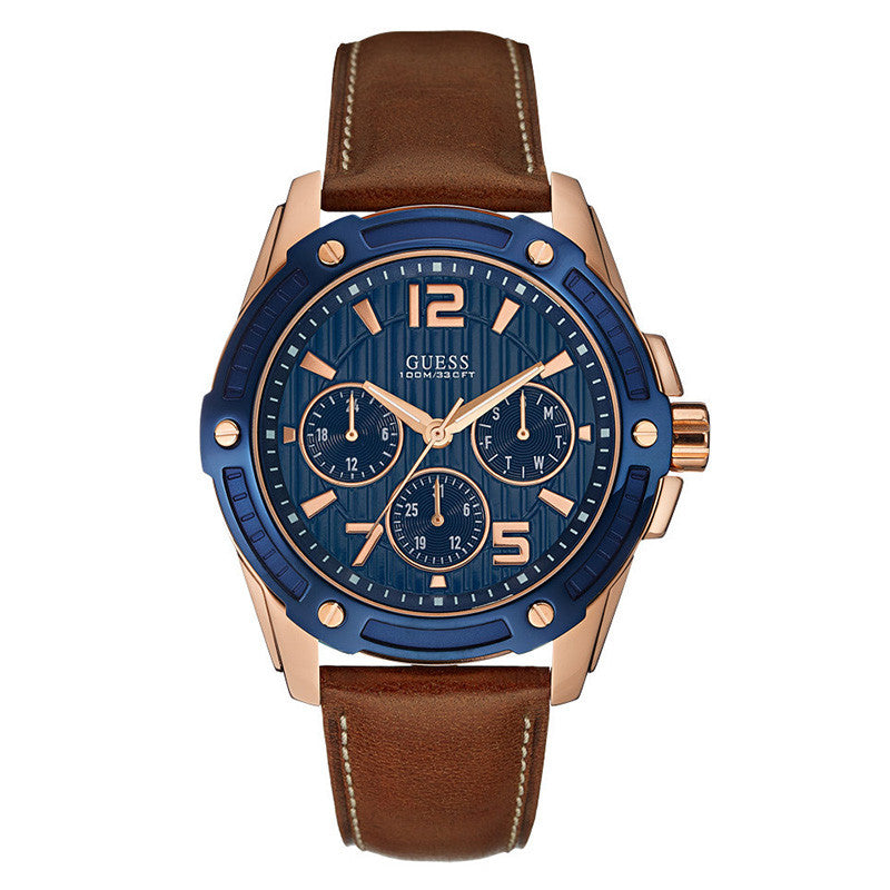 Flagship Multi-Function Blue Dial Men's Watch