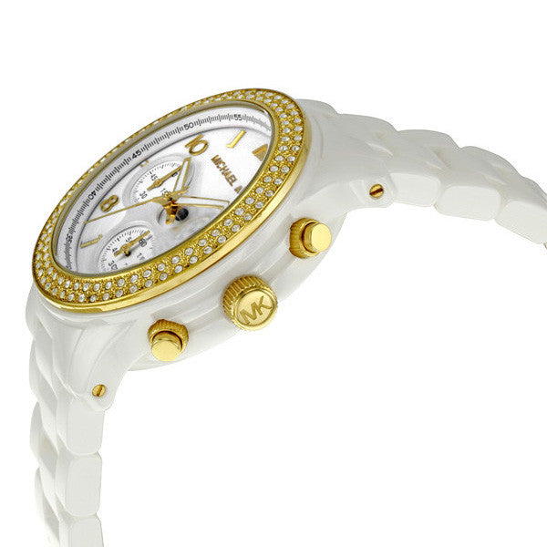 White Ceramic Ladies Watch