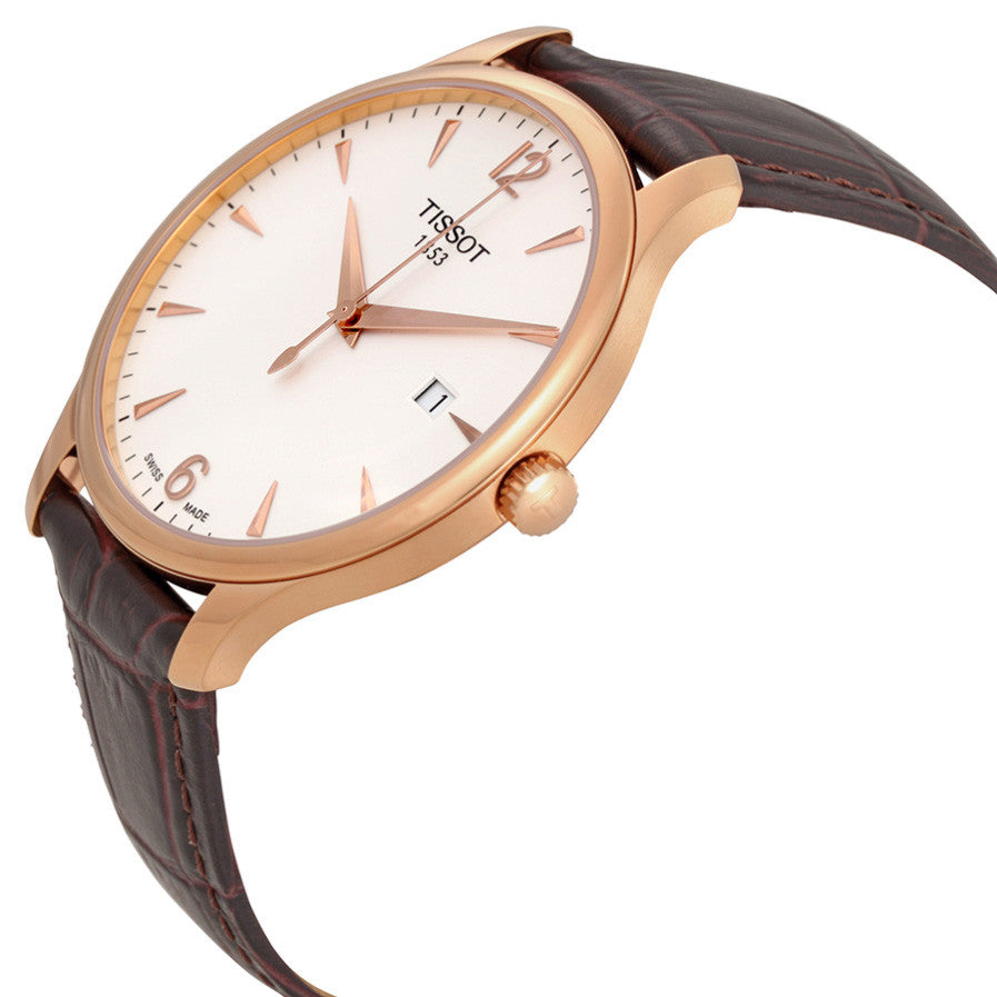Tradition Rose Gold PVD Men's Watch