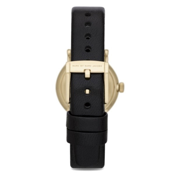 Baker Mini Black Gold Case Ladies Watch