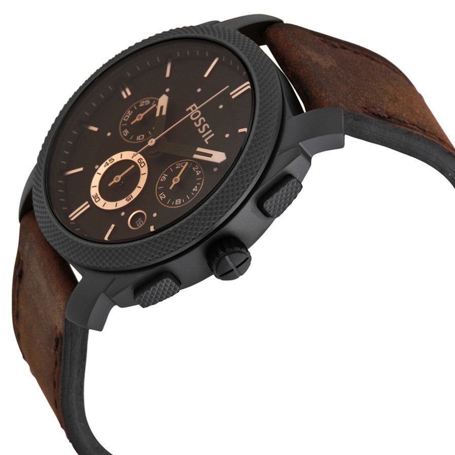Machine Flight Chronograph Brown Dial Men's Watch