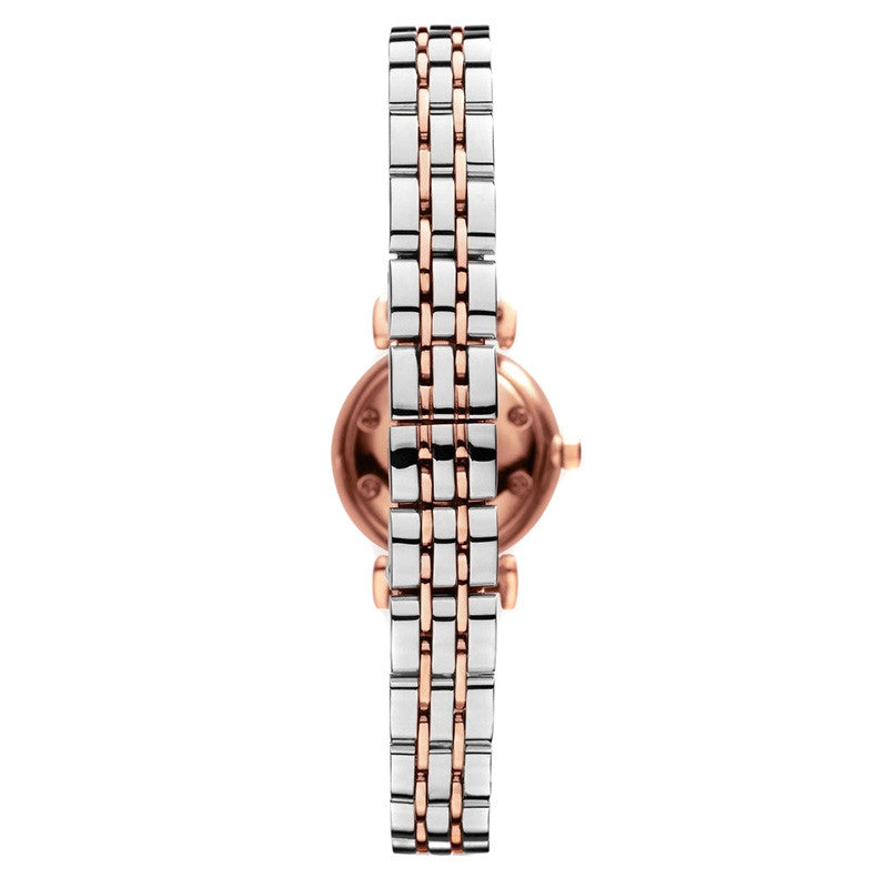Mother Of Pearl Dial Two-tone Stainless Steel Ladies Watch