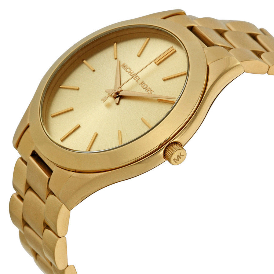 Runway Gold Dial Ladies Watch