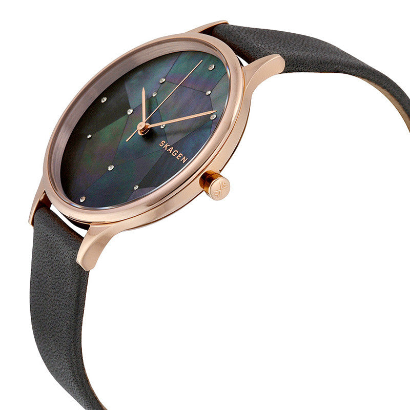 Anita Grey Crystal Constellation Dial Ladies Watch