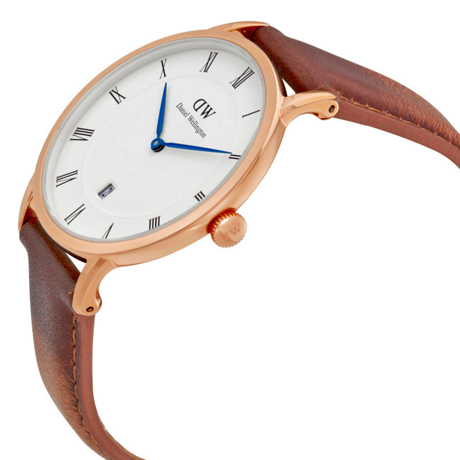 Dapper Durham Rose Gold 38mm Men's Watch