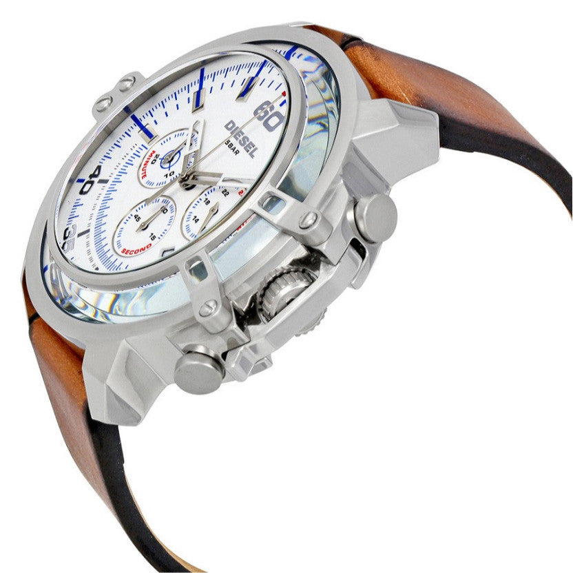 Deadeye Silver Dial Men's Chronograph Watch